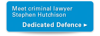 Meet criminal lawyer Stephen Hutchison. Dedicated Defence